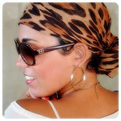Head wrap and Sunnies