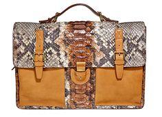 Corneliani - Pythontasche #McArthurGlenStyle Messenger Bag, Satchel, How To Wear, Bags, Design, Style, Fashion, Handbags, Swag
