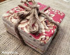 Tumbled Marble Tile Coasters