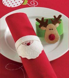 Inspirações da semana: Natal em feltro [http://www.tabletips.com.br]