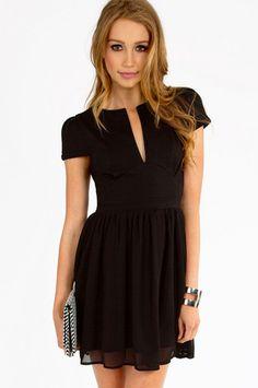 Simpleton Skater Dress $26 at www.tobi.com