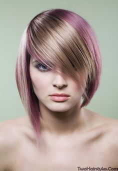 Blonde Two Tone Hairstyles