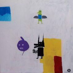 "Saatchi Online Artist Oscar Sancho Nin; Painting, ""The Fable."" #art"