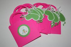 Spa Party Purse Invitations by yadyscreations on Etsy, $24.00