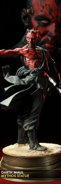 Darth Maul Mythos statue from Sideshow Collectibles.