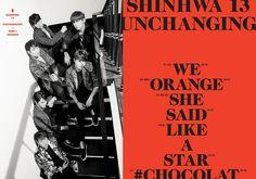 #ShinhwaCompany 신화, 정규 13집 앨범 'SHINHWA 13 UNCHANGING PART 1 - ORANGE' 트랙리스트 공개!