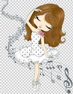 Pop Art Drawing, Cute Girl Drawing, Cartoon Drawings, Cute Drawings, Nursery Drawings, Paris Illustration, Girl Cartoon Characters, Ink Doodles, Cg Artwork