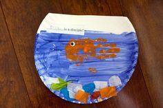 Handprint goldfish with story extension ideas