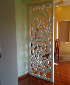Room partition designs - Stunning Privacy Screen Design for Your Home 20 Wooden Partition Design, Decor, Wall Paneling, Home, Interior, Wood Panel Walls, Screen Design, Decorative Panels, Home Decor