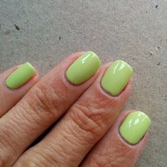 China Glaze Be More Pacific. This was easy to work with, but did require three coats.