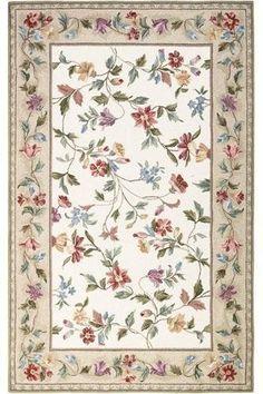 Floral Vine Area Rug, 7'6 ROUND, IVORY by Home Decorators Collection, http://www.amazon.com/dp/B007AU9RWK/ref=cm_sw_r_pi_dp_wnXEqb04GZDNX
