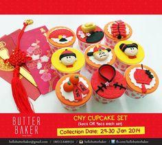 Chinese New Year cupcake