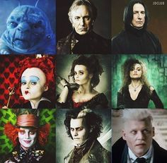 regram @jerriedepp  From Alice In Wonderland -> Sweeney Todd -> Harry Potter Universe haha how awesome is this . . . #johnnydepp #deppheadbr