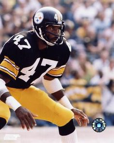 Still the single greatest cover corner in NFL history. Mel made the NFL change the rules. Steelers Pics, Pittsburgh Steelers Football, Pittsburgh Sports, Steelers Stuff, Pittsburgh City, Dallas Cowboys, Football Memes, Football Cards, Football Players
