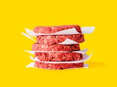 Nerds Over Cattle: How Food Technology Will Save the World | An Impossible Food burger patty | Credit: Impossible Foods | From Wired.com