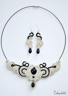 Cukorpalantak / Šujtášový náhrdelník a náušnice