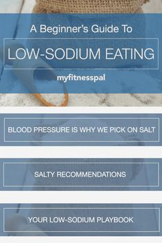 Here is your guide to a low-sodium diet. From replacing salt with other healthy alternatives to how much salt is in foods like cheese, processed meat and more. Wanting to know the nutrition facts of salt? Which salt is the healthiest? Interested in pink himalayan salt or sea salt? Here's why doctors have told us to limit salt intake and why sodium has led to health issues like high blood pressure or heart attacks. #MyFitnessPal #salt #sodium #lowsodium #diettips #healthydiet… Nutrition Guide, Health And Nutrition, Health And Wellness, Low Sodium Diet, Healthy Water, My Fitness Pal, Himalayan Salt, High Blood Pressure, Healthy Eating Tips
