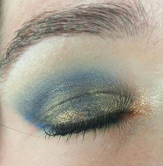 Impulse cosmetics blue gold duochrome