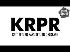 Knit Ret Pass Ret Dec. (KRPR) :: Knitting :: New Stitch a Day