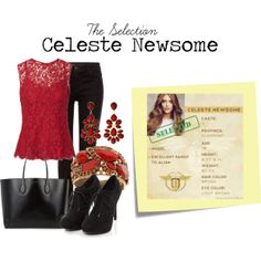 Celeste Newsome - Two The Selection Kiera Cass, The Selection Book, Diva Fashion, Fashion Looks, Maxon Schreave, The Best Series Ever, Fandom Fashion, Fandom Outfits, Book Of Life