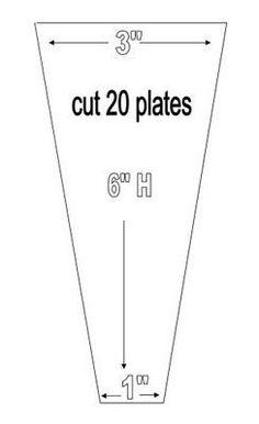 Dresden Plate Quilt Pattern.