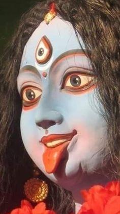 Kali Puja, Durga Kali, Shiva Shakti, Indian Goddess Kali, Durga Goddess, Mother Kali, Divine Mother, Kali Picture, Hindu Deities