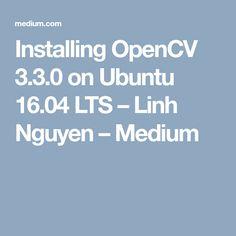 install opencv for python ubuntu 16.04