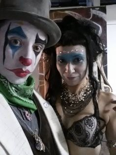 Agent Cilantro and Agent ms YET prepare to infiltrate the Legendary Art Car Ball, 2014. https://www.facebook.com/ms.YETorres