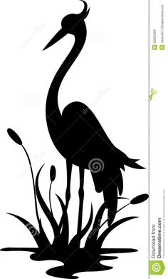 Blue Heron On Pinterest Silhouette You Left Me And