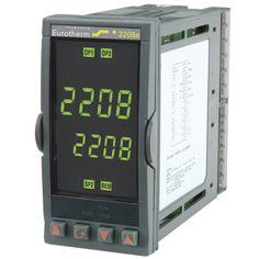 Controlador 2208E - Controladores de Temperatura o Procesos Versátiles y Estables - Ajuste Automático con Inhibición de Sobreimpulsos - Salidas de Calentamiento y Enfriamiento - Hardware Modular - Display Totalmente Personalizable - Comunicaciones Digitales.