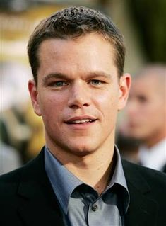 Matt Damon - a good meaty party guest, knows lots of things and lots of people.