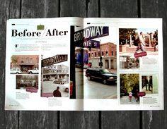 magazine spread LYNDY YOSSUNDHARAKUL | graphic design