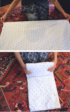 How-To Fold Fitted Sheets