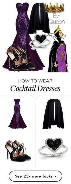 """""""The Evil Queen ~Anna"""" by disney-daughters on Polyvore featuring Kevin Jewelers and Pierre Cardin"""