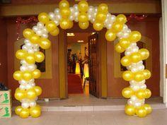 Resultado de imagen para balloon arch 60th