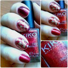 Into the fall. Kiko 493 and nail stamping.