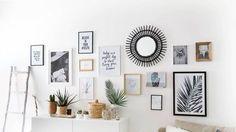 Deco wall frames – Pimp My Room Interior Design Living Room, Living Room Decor, Inspiration Wand, Cool Wall Decor, Living Comedor, Cool Walls, My Room, Frames On Wall, Home Decor