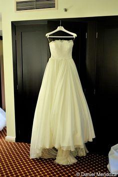 Bello vestido de novia...