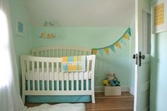 Seafoam Green Baby Room Ideas