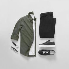 Outfit Ideas For Men: Stylish Mens Clothes That Any Guy Would Love Mens Casual Dress Outfits, Stylish Mens Outfits, Stylish Clothes, Trend Fashion, Fashion Outfits, Men's Outfits, Man Fashion, Fashion Styles, Womens Fashion