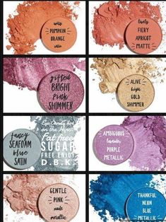 Beautiful colours. No Fall-out, highly pigmented , buildable . Go, get your squad!