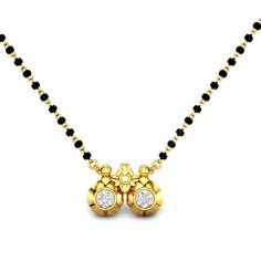 Present large choice of good bijou collections, classic High Jewelry for ladies. Diamond Mangalsutra, Gold Mangalsutra Designs, Gold Jewellery Design, Bead Jewellery, Gold Jewelry, Beaded Jewelry, High Jewelry, Toe Ring Designs, Bridal Necklace Set