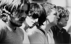 Jamie Cook, Alex Turner, Matt Helders & Nick O'Malley. Arctic Monkeys.