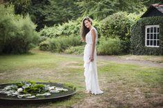 Robe de mariée Leila Hafzi, shooting Elodie Timmermans, Copyright Mlle C.
