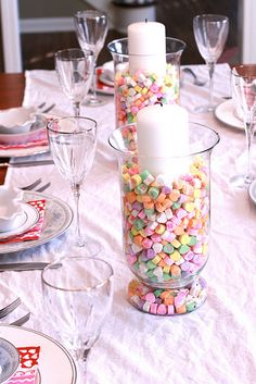 Valentine Table Decoration