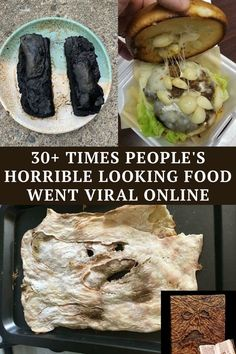 these are the absolute worst and weirdest meals that ended up going viral.
