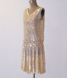 1920s 20s Flapper Dress by Bedell of New York by daisyandstella, $1200.00