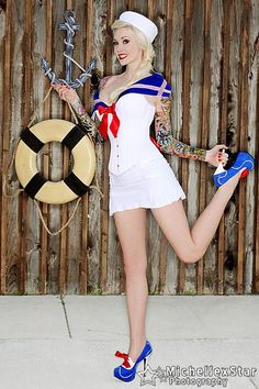 a61da913b1d Sabina Kelley - Sailor Pin Up