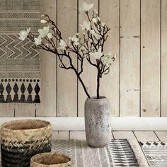 Stone Effect Vase - Vases & Plant Pots - Home Decoration - Home Accessories