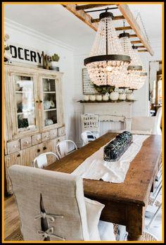 28 Best Of Modern Farmhouse Dining Room Lighting - Dining Room Design Ideas Farm House Living Room, Dining Room Makeover, White Living Room Decor, Dining Room Design, Dining Chandelier, Apartment Decor, Farmhouse Dining Room Lighting, Modern Farmhouse Dining Room, Trendy Farmhouse Kitchen